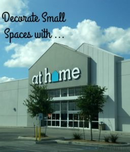 Decorate Small Spaces with At Home Stores #AtHomeStores #CollegeMoveIn