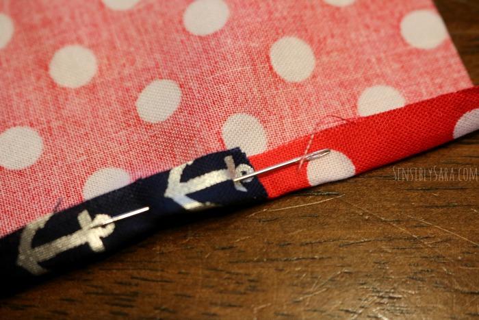 Pin the pieces in place | SensiblySara.com