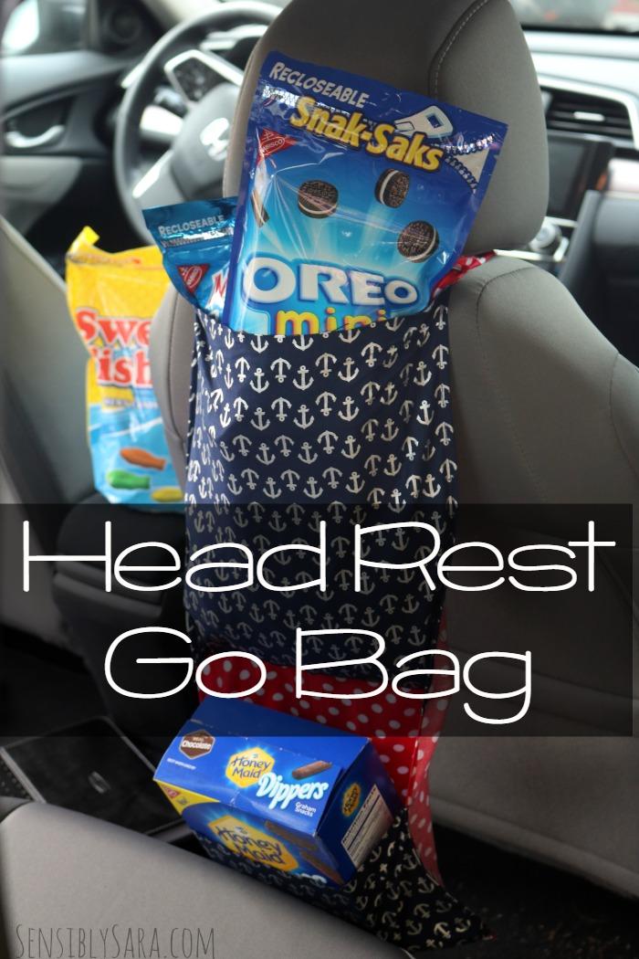 Head Rest Go Bag | SensiblySara.com