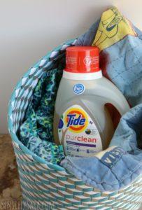 NEW! Tide Purclean – a Bio-Based Detergent! [AD] #TidePurclean