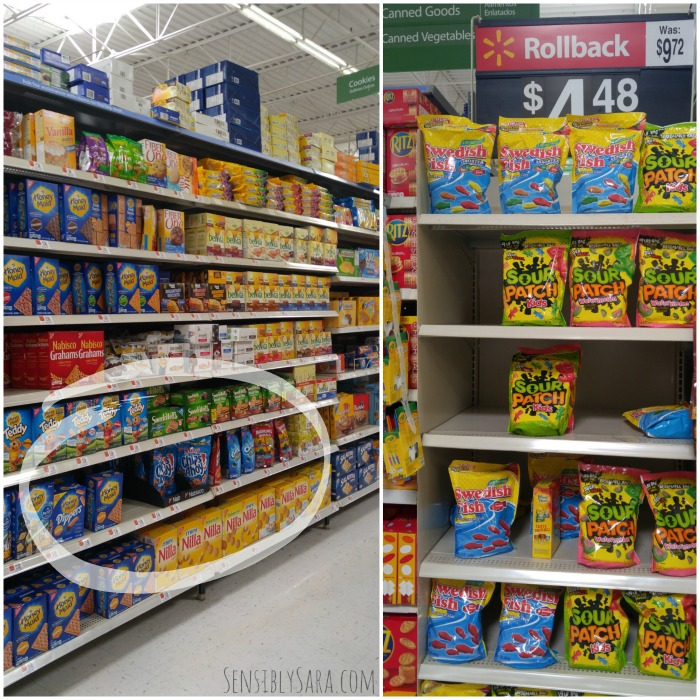 Mondelez Snacks at Walmart | SensiblySara.com