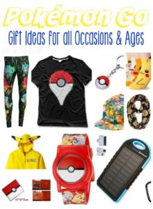 Pokémon Go Gift Ideas for all Occasions {Kids & Adults}