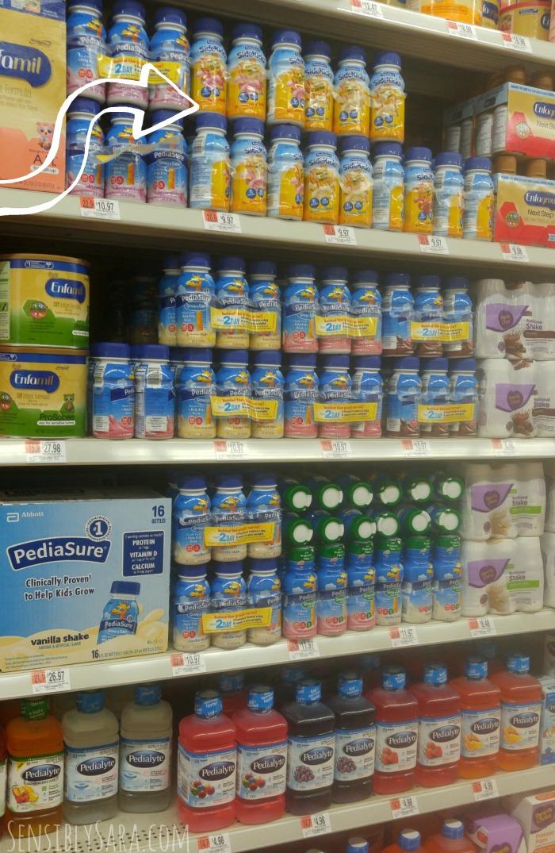 PediaSure SideKicks at Walmart | SensiblySara.com