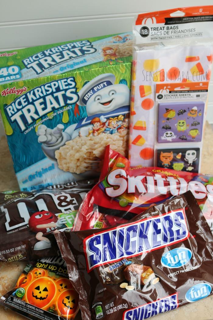 BOO it Forward Supplies at Walmart | SensiblySara.com