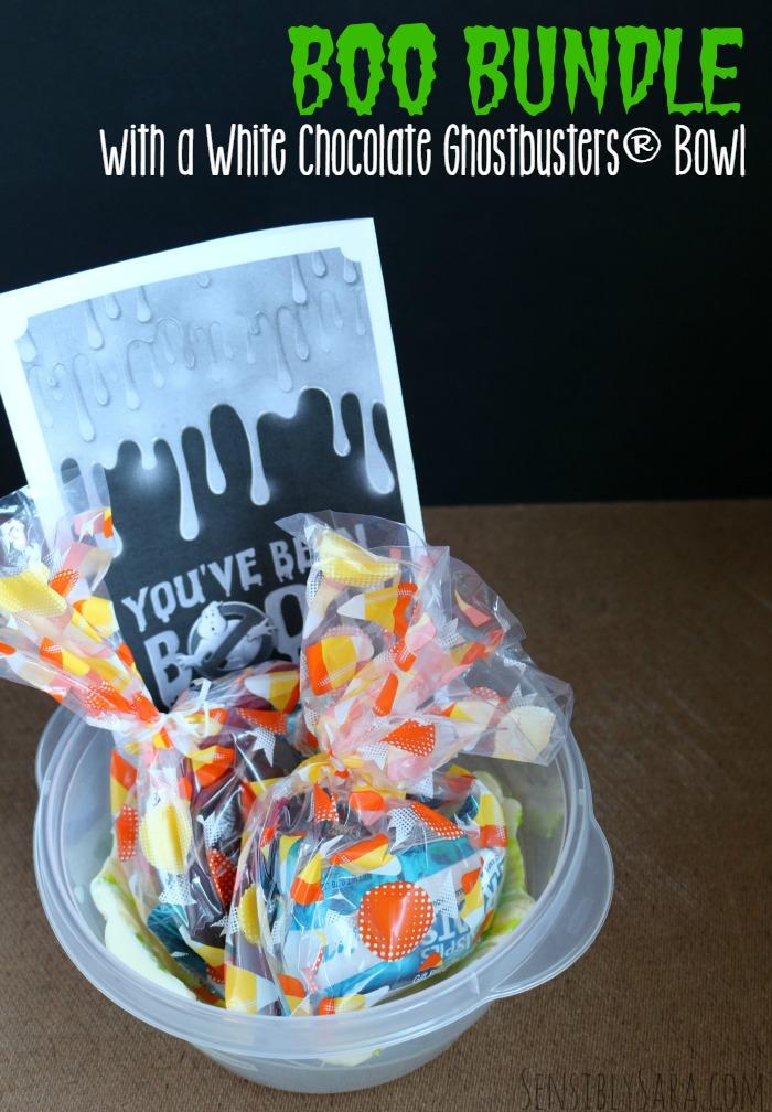 BOO Bundle with White Chocolate Ghostbusters® Bowl | SensiblySara.com