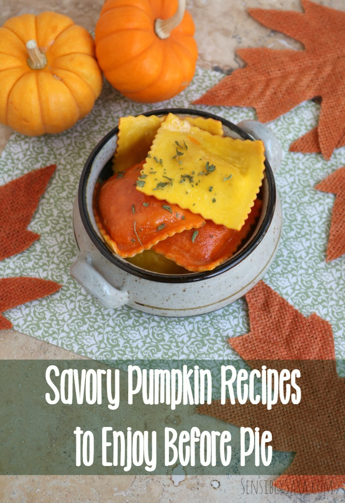 10 Savory Pumpkin Recipes to Enjoy Before Pie | SensiblySara.com