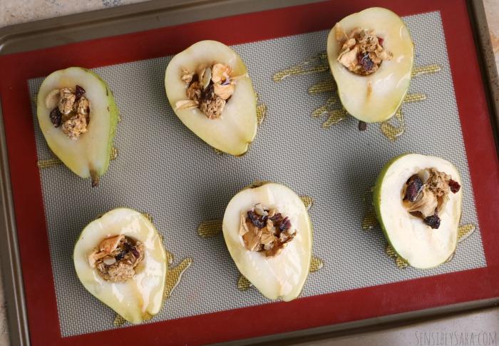 Baked Pears Step 2 | SensiblySara.com