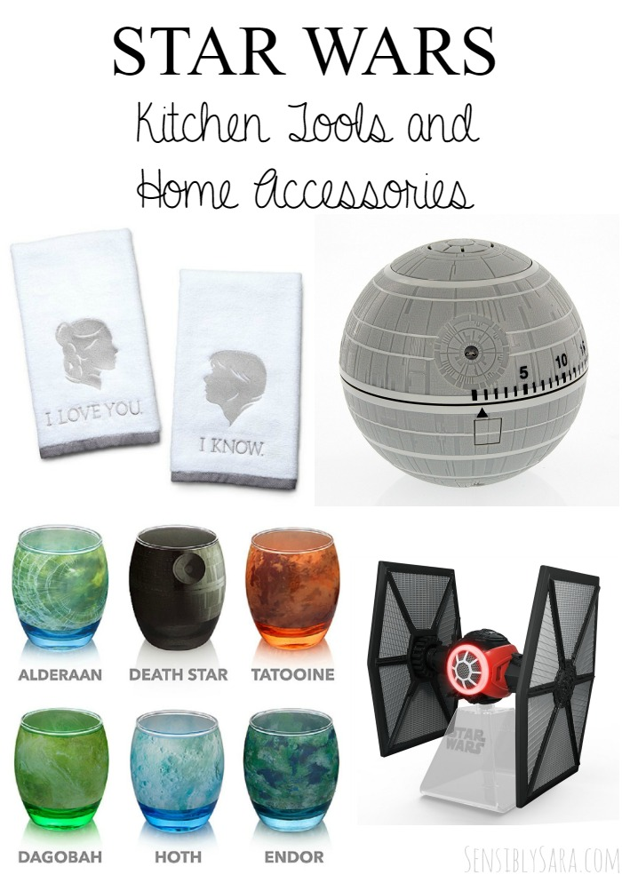 Star Wars Kitchen Tools and Home Accessories | SensiblySara.com