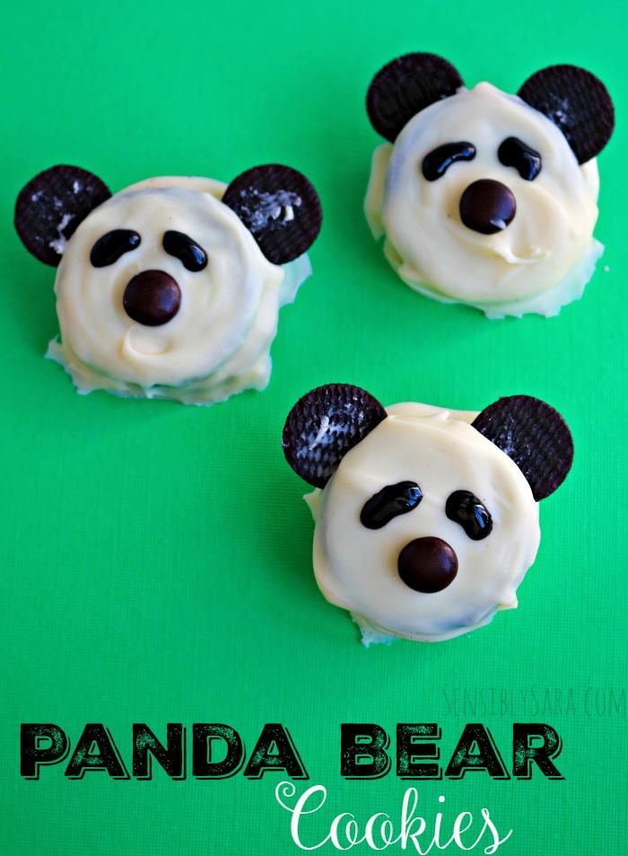 Panda Bear Cookies | SensiblySara.com