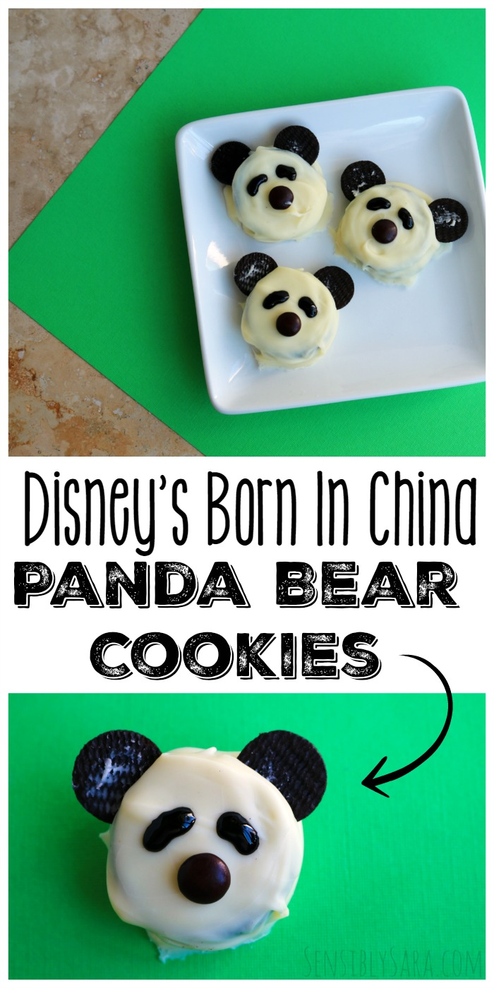 How to Make Panda Bear Cookies | SensiblySara.com