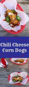 State Fair® Chili Cheese Corn Dogs [AD] #TexFest