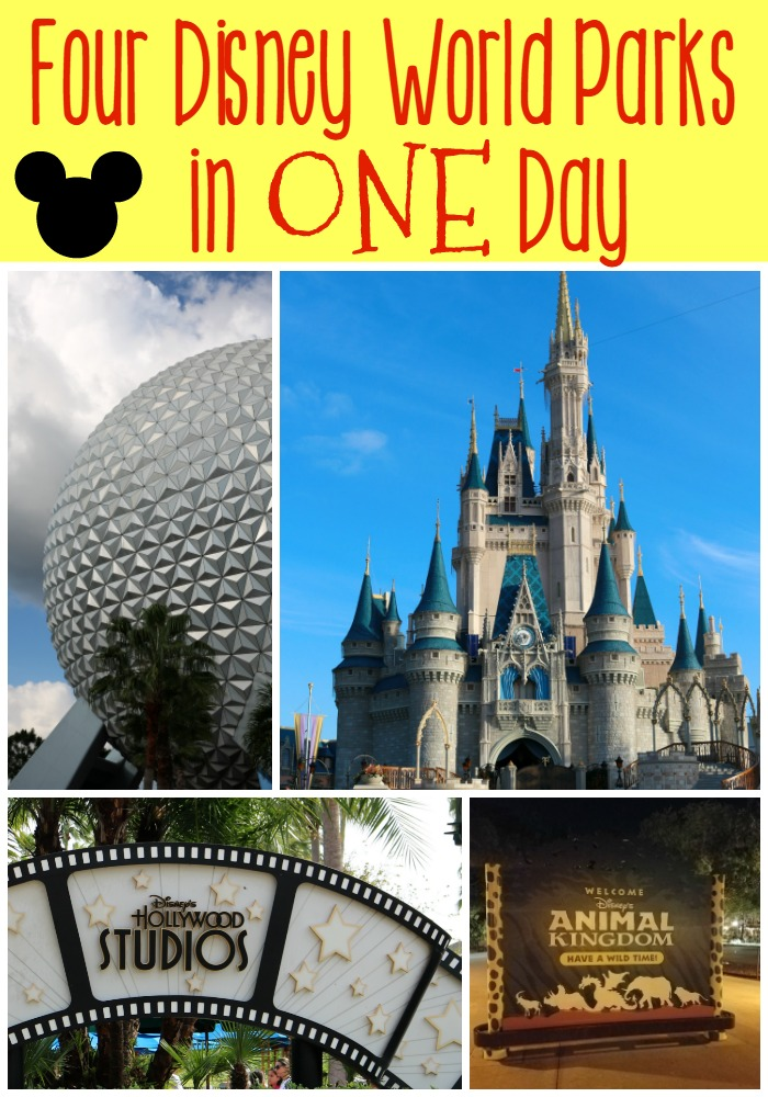 Four Disney World Parks in One Day | SensiblySara.com