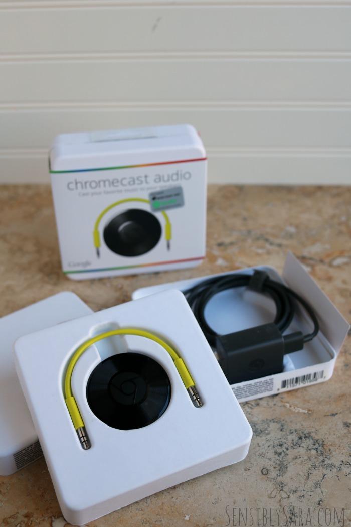 Google Chromecast Audio | SensiblySara.com