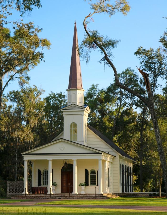 Montage Palmetto Bluff Wedding Chapel | SensiblySara.com