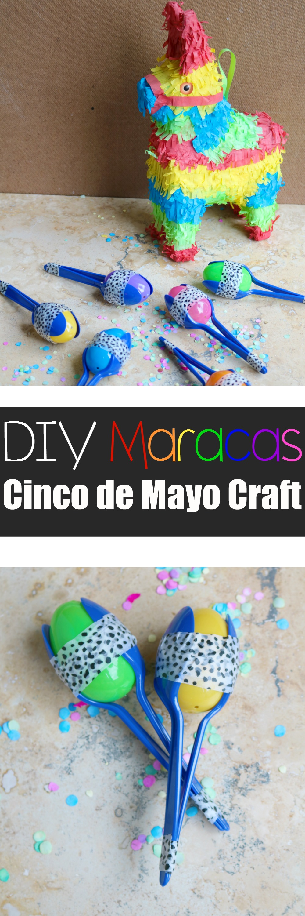 DIY Maracas for Fiesta or Cinco de Mayo | SensiblySara.com