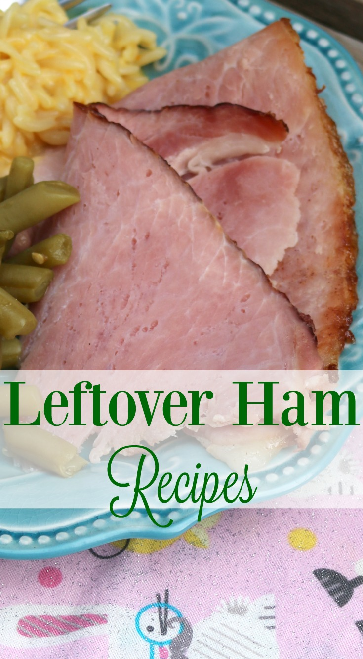 Leftover Ham Recipes | SensiblySara.com