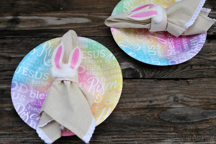 Napkin Rings for Easter | SensiblySara.com