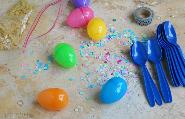 DIY Maracas Supplies | SensiblySara.com