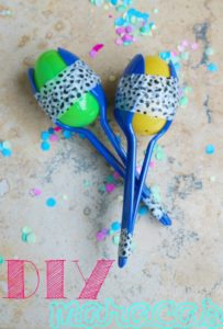DIY Maracas Craft for Cinco de Mayo #OldElPaso [AD]