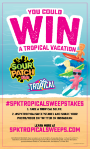 Sour Patch Kids Tropical Sweepstakes #spktropicalsweepstakes