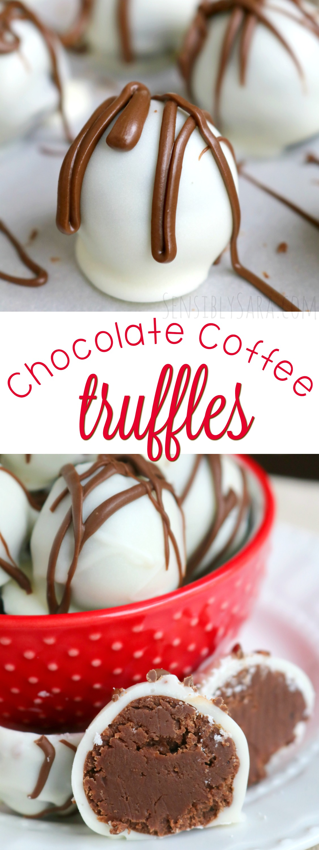 Chocolate Coffee Truffles | SensiblySara.com