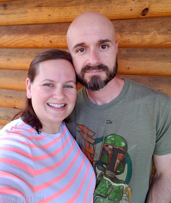 Sara and Husband | SensiblySara.com