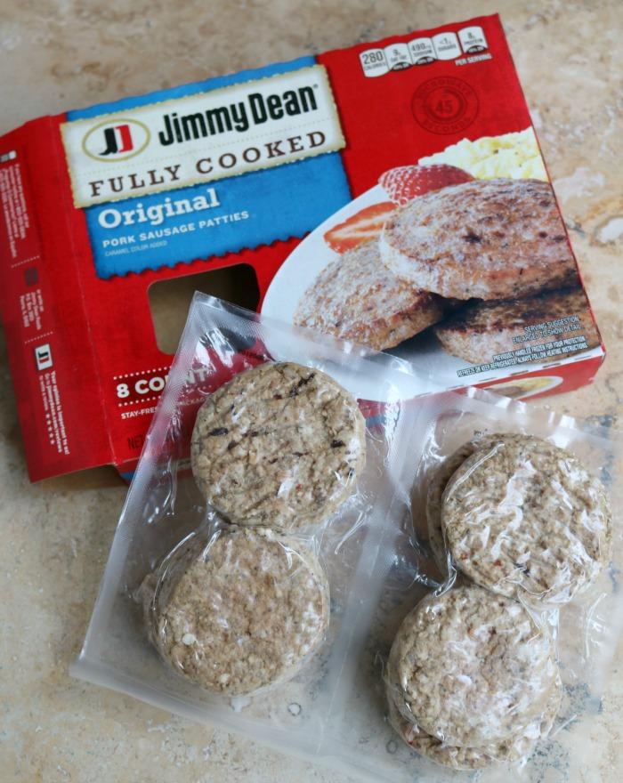 Jimmy Dean Fully Cooked Sausage | SensiblySara.com