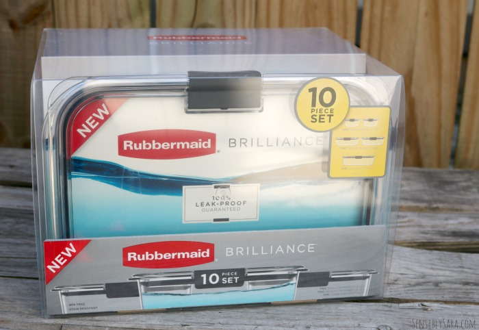 Rubbermaid BRILLIANCE Containers | SensiblySara.com