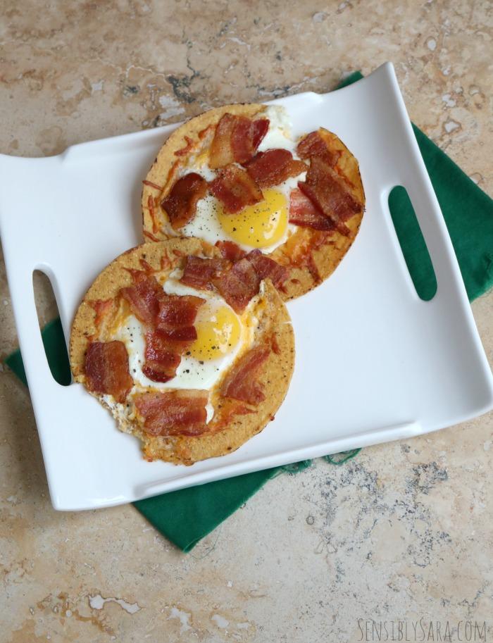 Breakfast Chalupas Recipe | SensiblySara.com