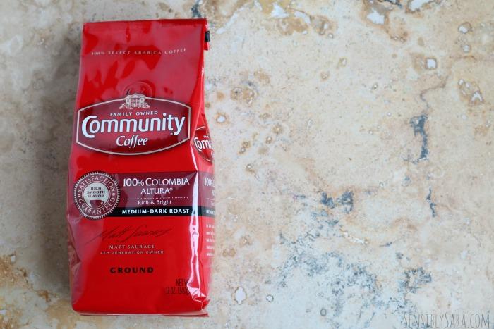 Community Coffee | SensiblySara.com