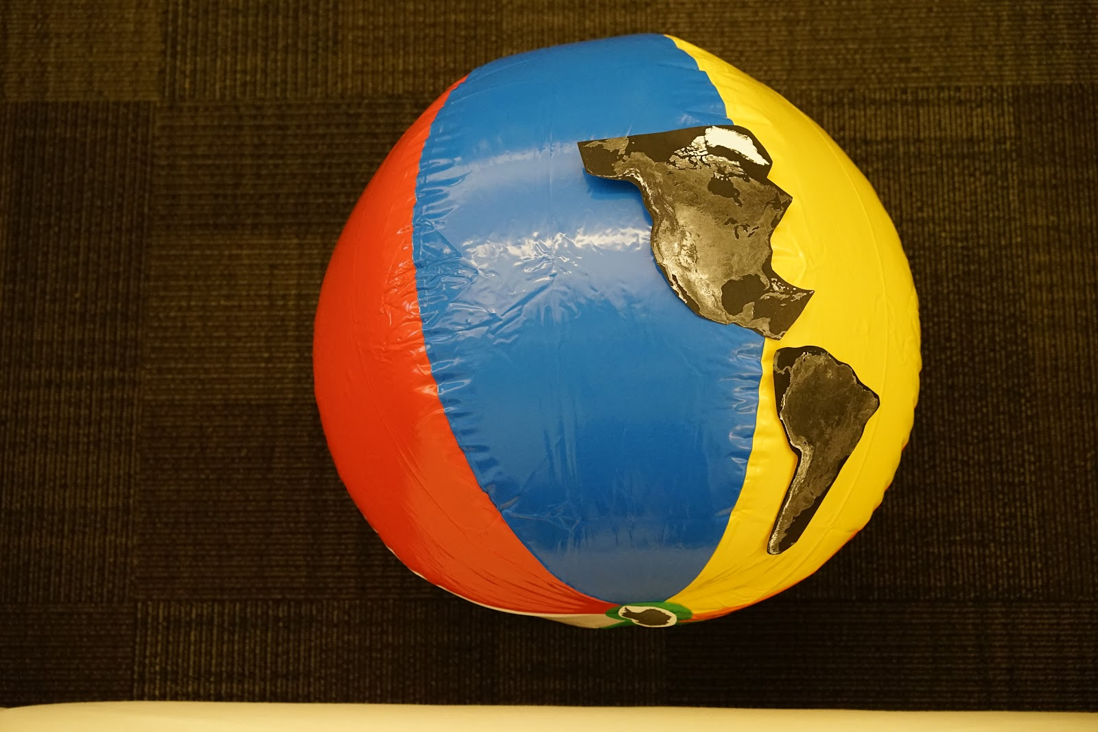 Beach Ball Continents - Geography for Preschoolers