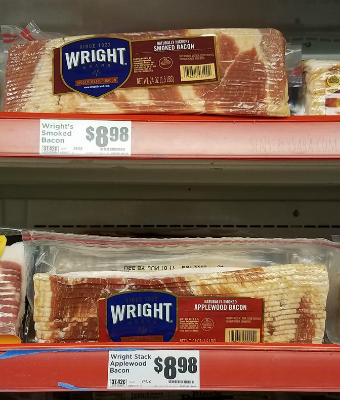 Wright Brand Bacon at HEB | SensiblySara.com