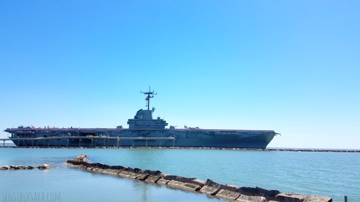 The USS Lexington | SensiblySara.com