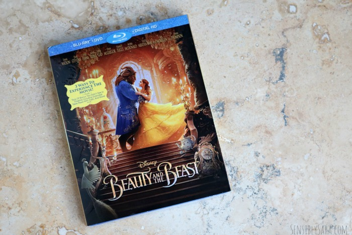 Disney's Beauty and the Beast on Blu-Ray | SensiblySara.com