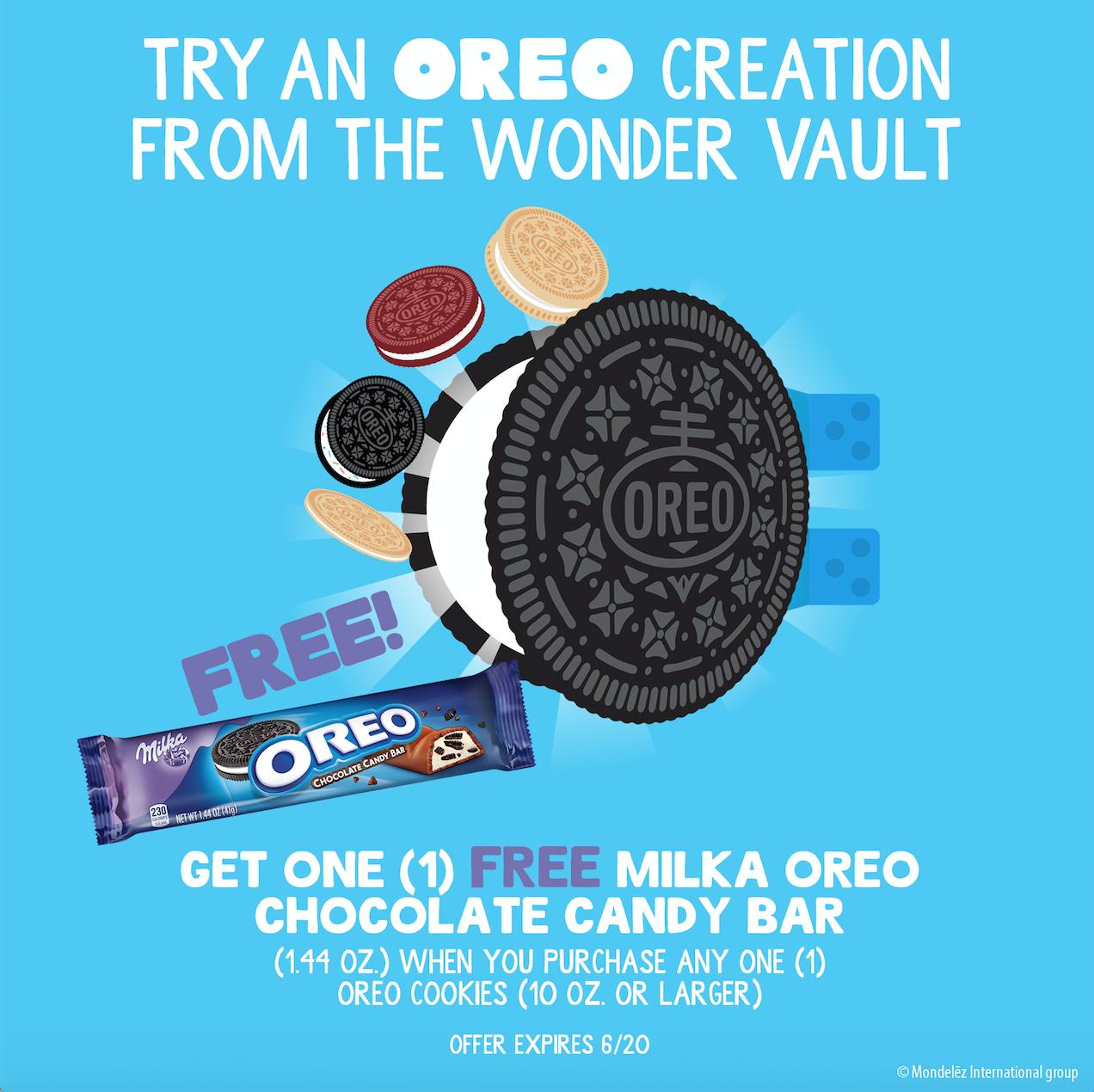 OREO Wonder Vault Promo image