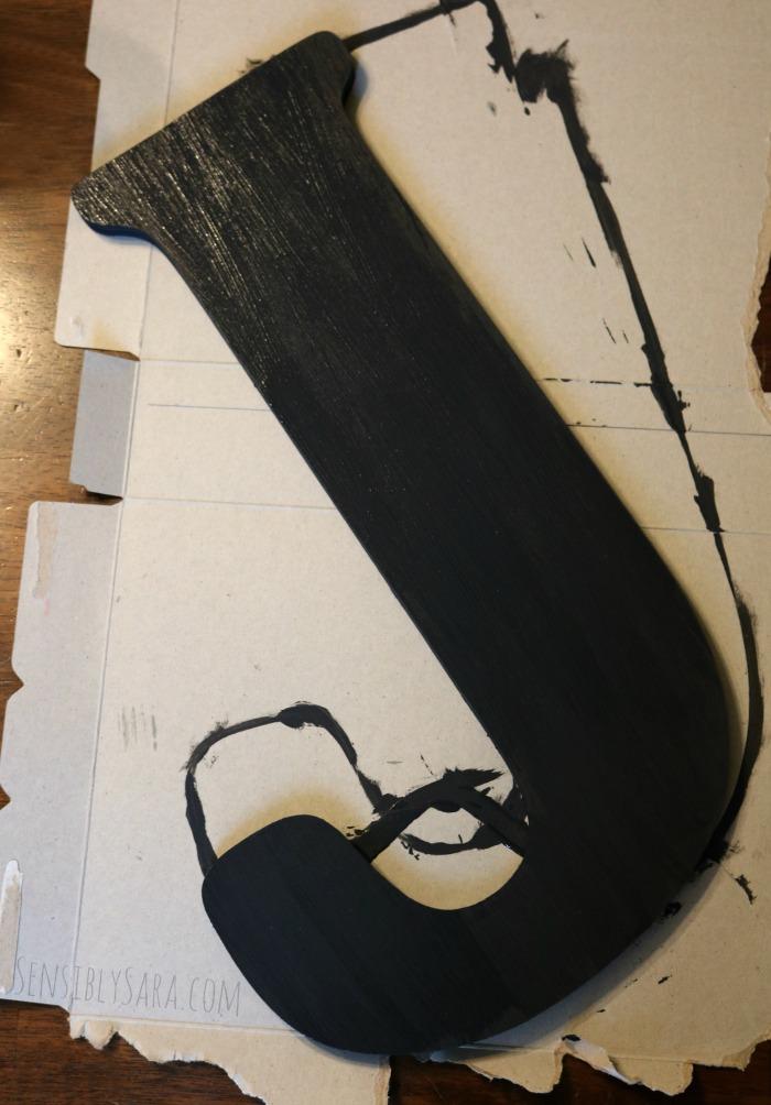 Painted Back to School Sign | SensiblySara.com