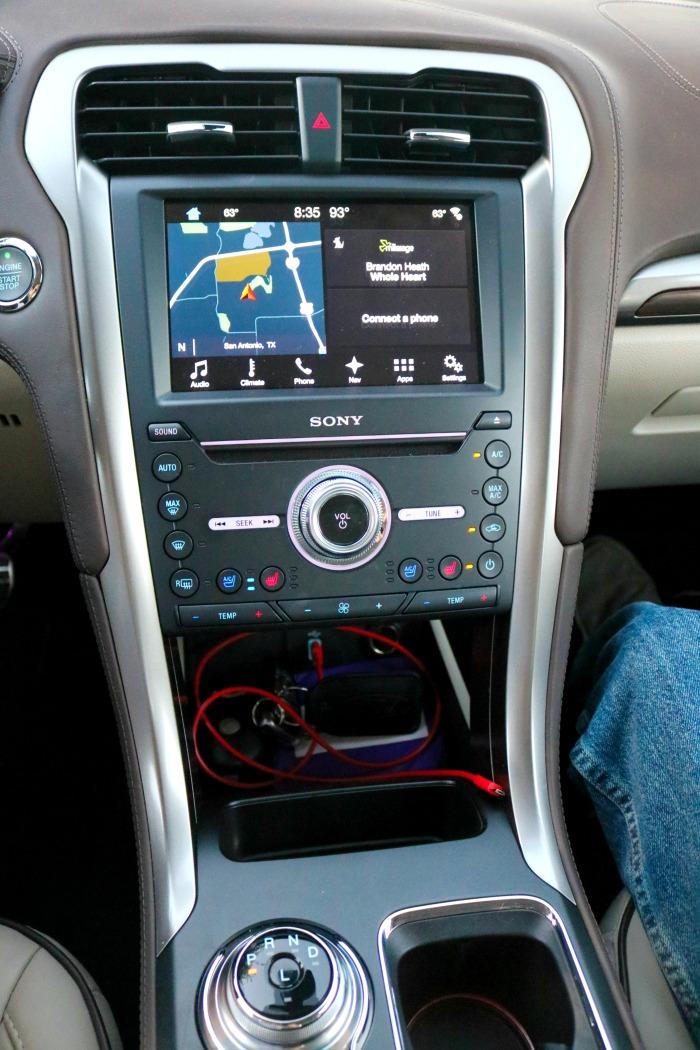 Ford Fusion Interior | SensiblySara.com