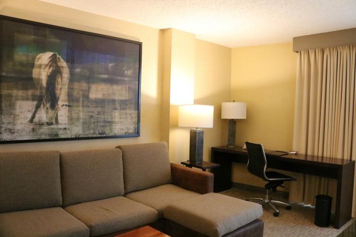 Hilton San Antonio Suite | SensiblySara.com