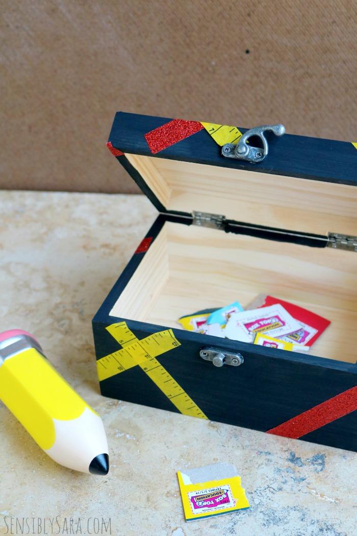 DIY Box Tops for Education Collection Box   SensiblySara.com