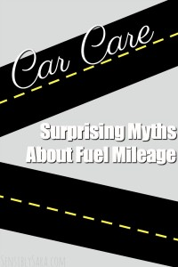 Surprising Myths About Fuel Mileage