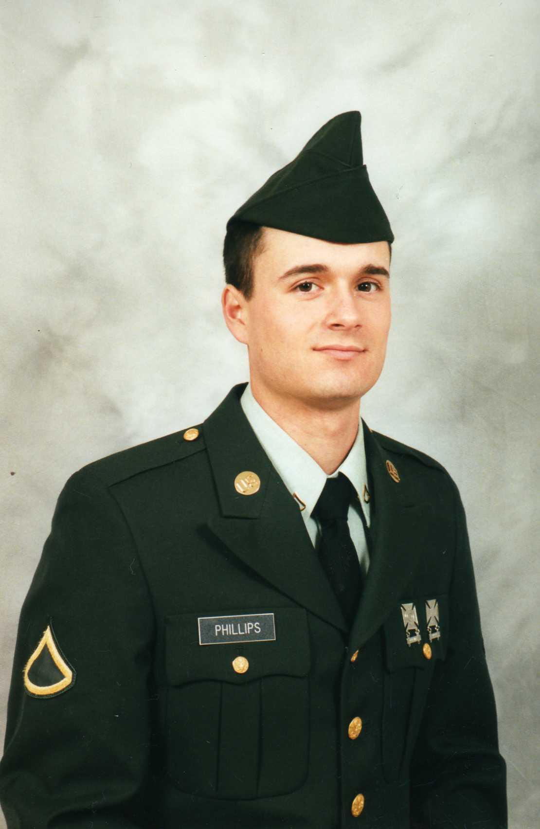 Larry in the Army | SensiblySara.com