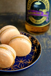Butterbeer Macarons Recipe for Harry Potter Fans