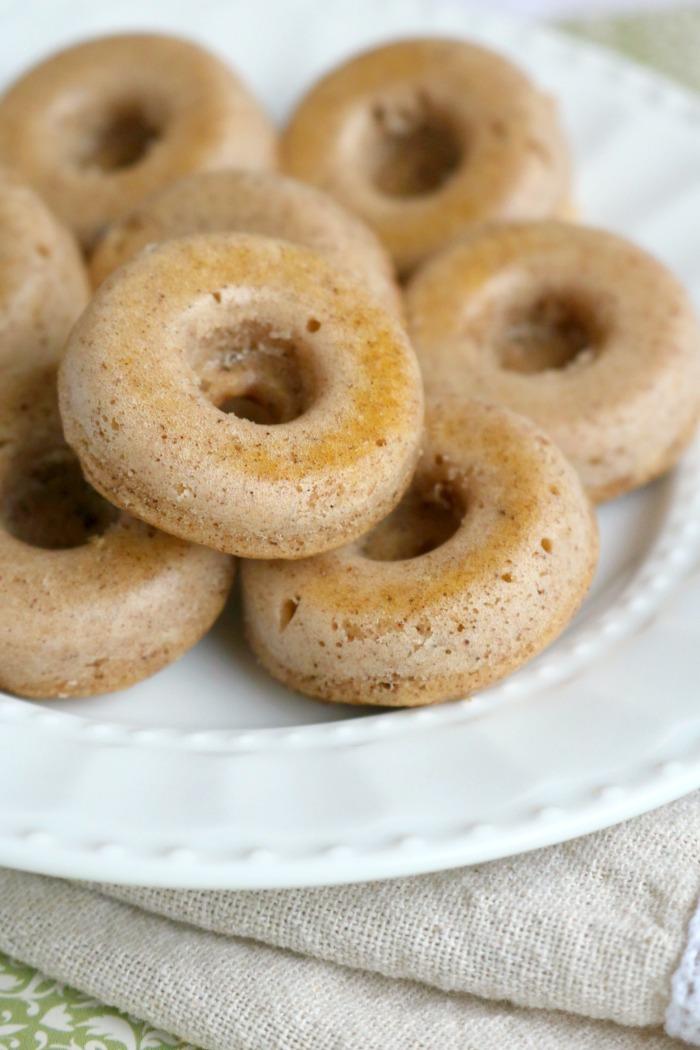 Mini Protein-Packed Donuts | SensiblySara.com