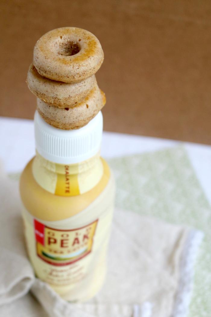 Donuts and Gold Peak Vanilla Chai Latte | SensiblySara.com