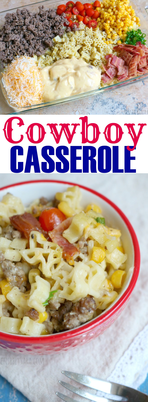 Cowboy Casserole Recipe | SensiblySara.com