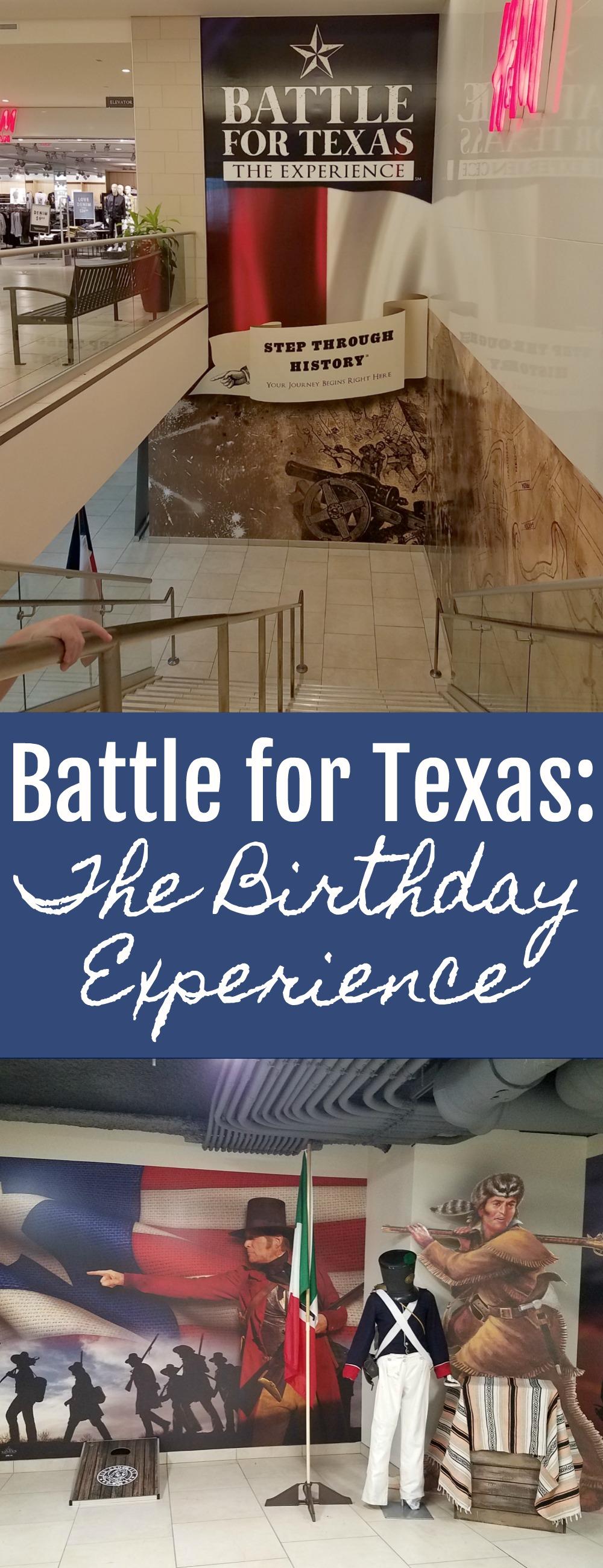 Battle for Texas Birthday Experience   SensiblySara.com
