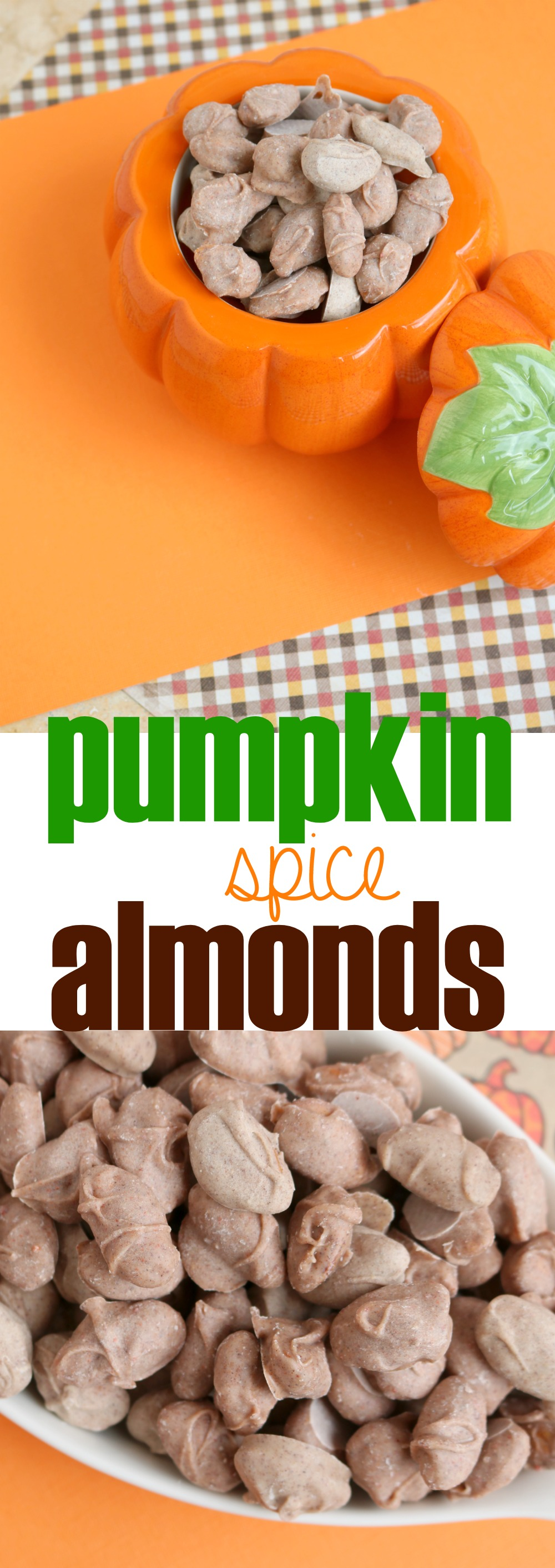 How to Make Pumpkin Spice Almonds | SensiblySara.com