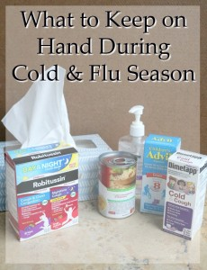 What to Keep on Hand During Cold & Flu Season