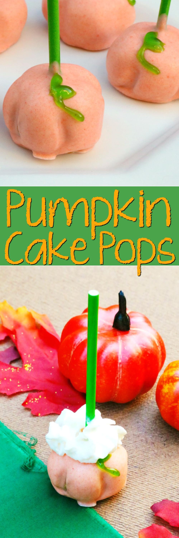 Pumpkin Cake Pops Tutorial | SensiblySara.com