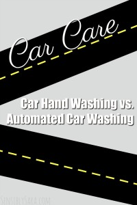 Car Hand Washing Versus Automated Car Washing